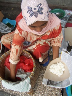 Penjual Nasi Boranan